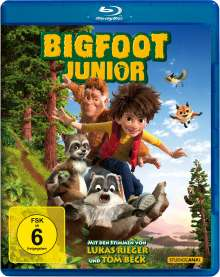 Bigfoot Junior (Blu-ray), Blu-ray Disc