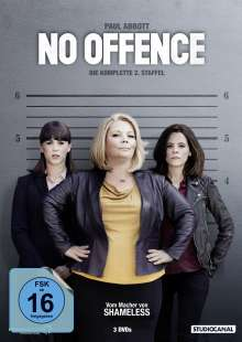 No Offence Staffel 2, 3 DVDs