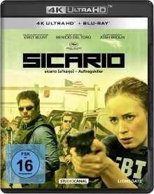 Sicario (Ultra HD Blu-ray & Blu-ray), 1 Ultra HD Blu-ray und 1 Blu-ray Disc