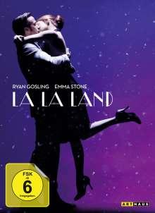 La La Land (Soundtrack Edition im Mediabook) (DVD & CD), 1 DVD und 1 CD
