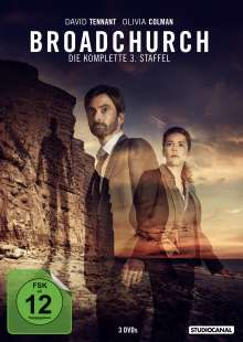 Broadchurch Staffel 3, 3 DVDs