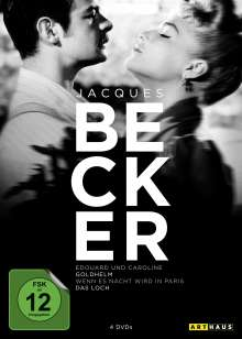 Jacques Becker Edition, 4 DVDs