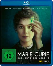 Marie Curie - Elemente des Lebens (Blu-ray), Blu-ray Disc