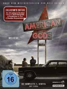 American Gods Staffel 1 (Collector's Edition), 4 DVDs