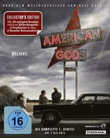 American Gods Staffel 1 (Collector's Edition) (Blu-ray), 3 Blu-ray Discs