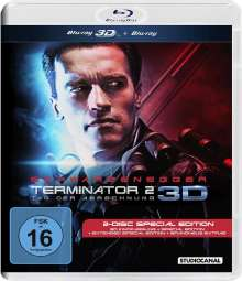 Terminator 2: Tag der Abrechnung (3D & 2D Blu-ray), 2 Blu-ray Discs