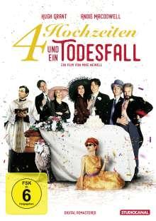 Vier Hochzeiten und ein Todesfall, DVD