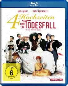 Vier Hochzeiten und ein Todesfall (Blu-ray), Blu-ray Disc