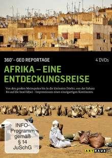360° Geo-Reportage: Afrika - Eine Entdeckungsreise, 4 DVDs