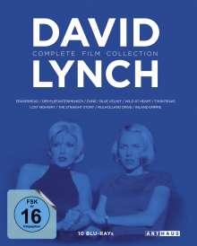 David Lynch (Complete Film Collection) (Blu-ray), 10 Blu-ray Discs