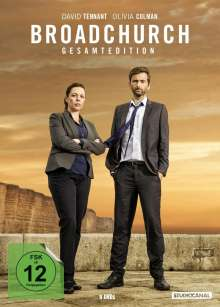 Broadchurch (Gesamtedition), 9 DVDs