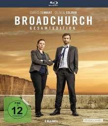 Broadchurch (Gesamtedition) (Blu-ray), 6 Blu-ray Discs
