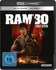 Rambo (Ultra HD Blu-ray & Blu-ray), 1 Ultra HD Blu-ray und 1 Blu-ray Disc