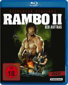 Rambo II - Der Auftrag (Blu-ray), Blu-ray Disc