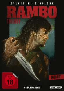 Rambo Trilogy, 3 DVDs