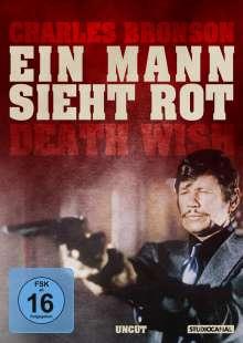 Ein Mann sieht rot, DVD