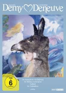 Jacques Demy & Catherine Deneuve Edition, 4 DVDs