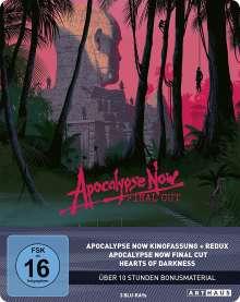Apocalypse Now (Limited 40th Anniversary Edition) (Blu-ray im Steelbook), 4 Blu-ray Discs
