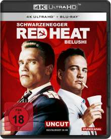 Red Heat (Ultra HD Blu-ray & Blu-ray), 1 Ultra HD Blu-ray und 1 Blu-ray Disc