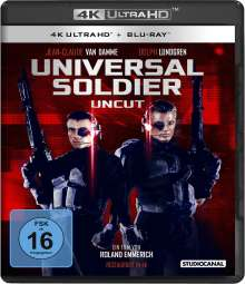 Universal Soldier (Ultra HD Blu-ray & Blu-ray), 1 Ultra HD Blu-ray und 1 Blu-ray Disc
