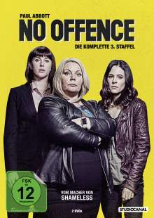 No Offence Staffel 3, 3 DVDs