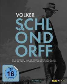 Best of Volker Schlöndorff (Blu-ray), 6 Blu-ray Discs