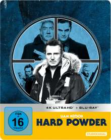Hard Powder (Ultra HD Blu-ray & Blu-ray im Steelbook), 1 Ultra HD Blu-ray und 1 Blu-ray Disc