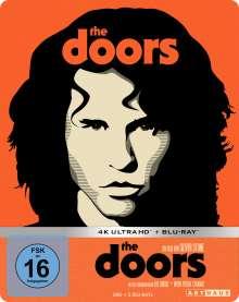 The Doors (Ultra HD Blu-ray & Blu-ray im Steelbook), 1 Ultra HD Blu-ray und 2 Blu-ray Discs