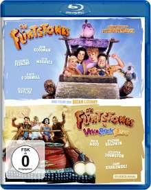 Flintstones - Die Familie Feuerstein / Die Flintstones in Viva Rock Vegas (Blu-ray), 2 Blu-ray Discs