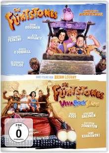 Flintstones - Die Familie Feuerstein / Die Flintstones in Viva Rock Vegas, 2 DVDs