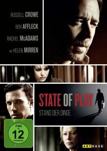 State of Play, DVD