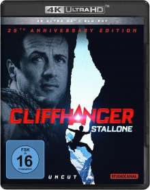 Cliffhanger (25th Anniversary Edition) (Ultra HD Blu-ray & Blu-ray), 1 Ultra HD Blu-ray und 1 Blu-ray Disc