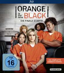 Orange is the New Black Staffel 7 (finale Staffel) (Blu-ray), 4 Blu-ray Discs