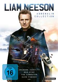 Liam Neeson Adrenalin Collection, 4 DVDs