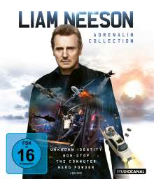 Liam Neeson Adrenalin Collection (Blu-ray), 4 Blu-ray Discs