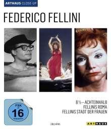 Federico Fellini Arthaus Close-Up (Blu-ray), 3 Blu-ray Discs