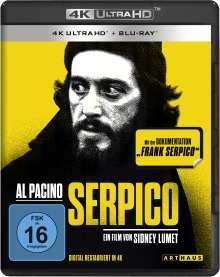 Serpico (Ultra HD Blu-ray & Blu-ray), 1 Ultra HD Blu-ray und 1 Blu-ray Disc