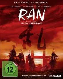 Ran (Special Edition) (Ultra Blu-ray & Blu-ray), 1 Ultra HD Blu-ray und 2 Blu-ray Discs