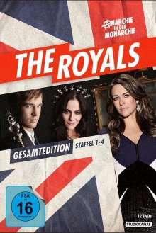 The Royals (Komplette Serie), 12 DVDs