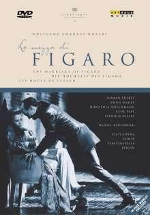 Wolfgang Amadeus Mozart (1756-1791): Die Hochzeit des Figaro, DVD