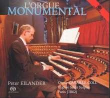 Peter Eilander  - L'Orgue Monumental, Super Audio CD