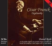 Cesar Franck (1822-1890): Orgelwerke (Ges.-Aufn.), 3 CDs