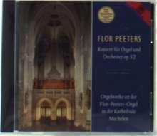 Flor Peeters (1903-1986): Orgelkonzert op.52, CD