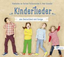 Kinderlieder aus Deutschland und Europa, CD