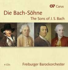 Musik der Bach-Söhne, 4 CDs