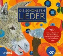 Die schönsten Lieder Vol. 1, CD
