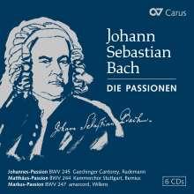 Johann Sebastian Bach (1685-1750): Die Passionen (exklusive Box für jpc), 6 CDs