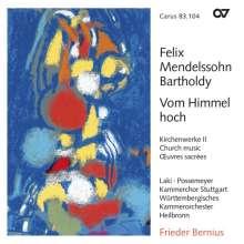 Felix Mendelssohn Bartholdy (1809-1847): Geistliche Chorwerke Vol.2, CD