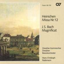 Johann David Heinichen (1683-1729): Messe Nr.12 D-Dur, CD