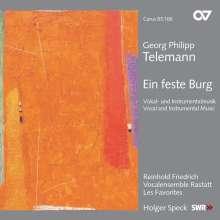Georg Philipp Telemann (1681-1767): 2 Deutsche Psalmen, CD